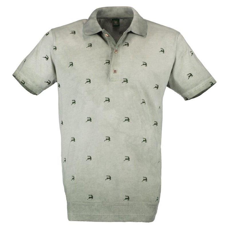save off 273d6 47ba0 OS-TRACHTEN H-Poloshirt oliv - OS-Trachten - Marken ...