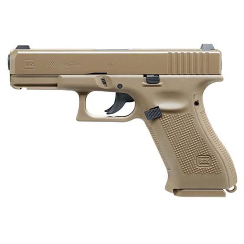 Umarex Glock 19x Fde Co2 Pistole Luftdruck Co2 Waffen Freie Waffen Waffen Kettner Com