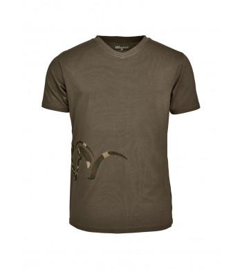 BLASER Herren Logo T-Shirt oliv