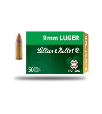 S&B 9mm Luger Nontox JHP 7,5g