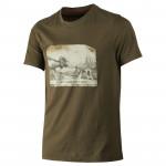 HÄRKILA Herren T-Shirt Moose&Dog