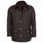 BARBOUR H-Jacke Ashby Wax oliv