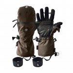 HEAT COMPANY 3 Smart Handschuh oliv/braun