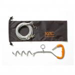 RAC Anlegepflock mit Hofleine