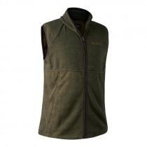 DEERHUNTER H-Weste Wingshooter Fleece graphite green