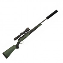SET - STEYR ARMS CLI II SX, Kal. 308 Win. + STEYR Breezer OSD + LEUPOLD Zielfernrohr VX-R 4-12x50 mm