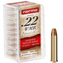 NORMA .22 WMR JHP 2,6g / 40gr