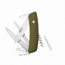 SWIZA D07 Scissors oliv