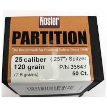 Nosler 257 Partition