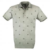 OS-TRACHTEN H-Poloshirt oliv