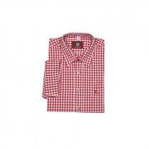 OS-TRACHTEN Hemd rot/weiß