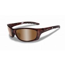 WILEY X Schieß-/Sonnenbrille P-17 braun/bronze