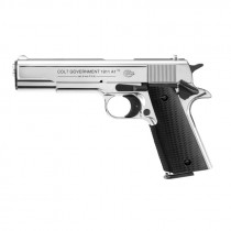 UMAREX Colt Goverment Mod. 1911 polished chrom 9mm PAK