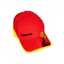 "NIGGELOH Cap ""Trail"" gelb/rot"