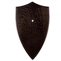 Gehörnschild Eiche dunkel 20x12 cm