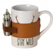 "AKAH Porzellanbecher ""Stay Wild"""
