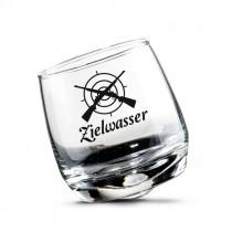 "AKAH Wackelglas ""Zielwasser"" 200ml 2er-Set"