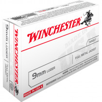 WINCHESTER 9mm Para FMJ