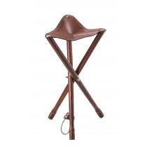 Dreibein Ledersitz 65 cm Sitzhöhe