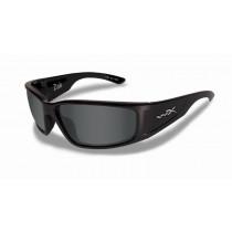 WILEY X Schieß-/Sonnenbrille X Zak schwarz/polarisiertes grau