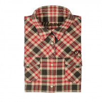 BLASER Damenbluse Flanell