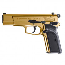 BROWNING Gaspistole GPDA 9 Goldfinish Kal.9mm PAK