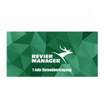 REVIERMANAGER 1-Jahr Datenübertragung