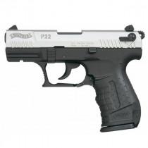 WALTHER Gaspistole Mod. P22 Nickel