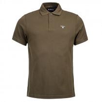 BARBOUR Poloshirt Tartan Pique dunkeloliv/classic