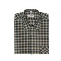 OS-TRACHTEN Herrenhemd m. Stick dunkelgrün