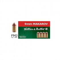 S&B 9 mm Makarov Vollmantel 6,1g