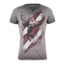 HANGOWEAR H-Shirt Ferdi grau