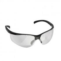 COMBAT ZONE Schutzbrille SG1 schwarzes Gestell, Gläser klar