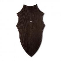 Gehörnbrettchen Eiche dunkel, 21x12cm