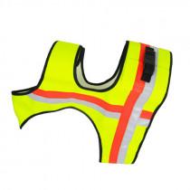 ZANTEX Hundeweste neongelb mit GPS Tasche