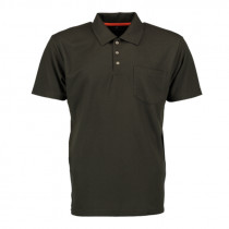 TOM COLLINS H-Poloshirt braun