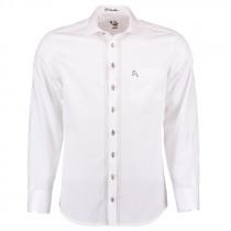 OS-TRACHTEN H-Hemd, weiß