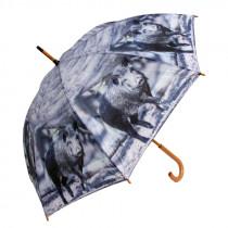 AKAH Regenschirm Motiv Wildschwein