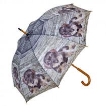 """AKAH Regenschirm Motiv """"Rauhaardackel"""""""