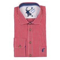 ORBIS Trachtenhemd rot