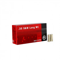 GECO .32 S&W long Wad Cutter 6,5g