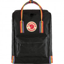 FJÄLLRÄVEN Kanken Rainbow 16L black/rainbow pat