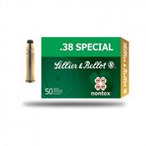 S&B .38 Spez. Nontox Teilmantel 10,25g