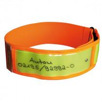 NIGGELOH Warnhalsung Gelb-orange S/M