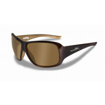 WILEY X Schieß-/Sonnenbrille WX Abby, Bronze/Espresso Brown