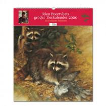 PAREY Rien Poortvliets Großer Tierkalender 2020