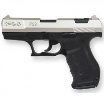 Walther Gaspistole P99 9mm PAK nickel