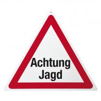 """Warnschild """"Achtung Jagd"""""""