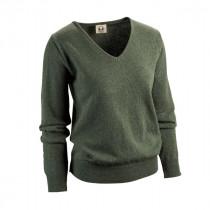 Elch Damen V-Pullover