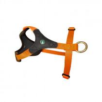 NIGGELOH Hundegeschirr Follow START braun/orange